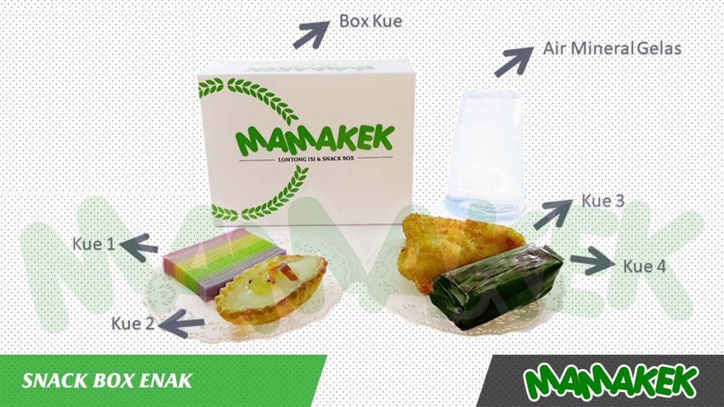 Snack Box Enak Mamakek Solusi Snack Box Dengan Rasa Kekinian